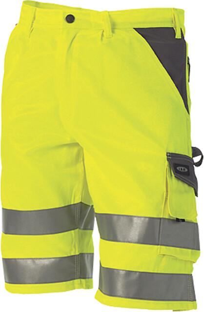 Arbejdsshorts, hi-vis, kl. 1, 11109-1 - gul/grå