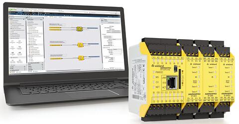 samos® PRO Compact - lille sikkerheds PLC og alligevel formidabel - samos® PRO Compact sikkerheds PLC fra Wieland Electric