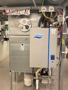 Ett RO-system från Condair används för att säkerställa driften.