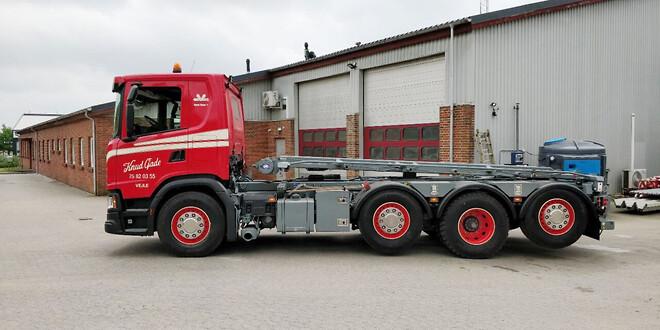 Chauffør søges til Scania hejse- og entreprenørbil