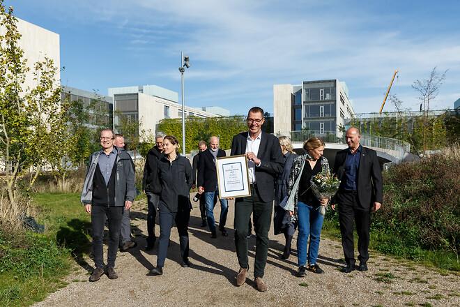 Karen Blixens Plads vinder Klimaprisen 2020.\n