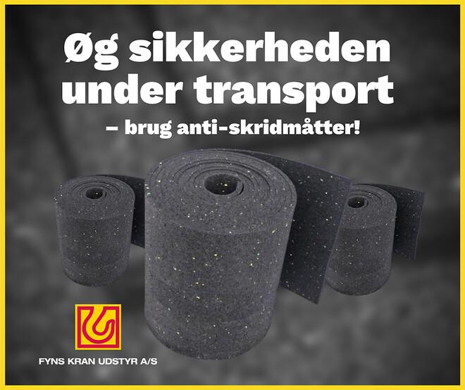 Anti-skridmåtte - Fyns Kran Udstyr