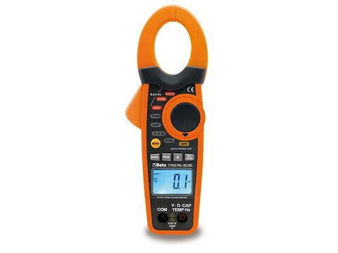 Digitalt multimeter/amperemeter beta
