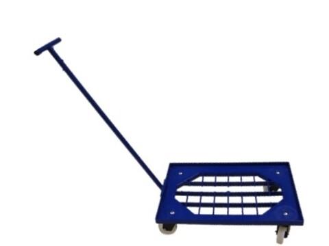 Traller - styrestang til alu-traller - blå