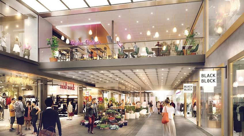 Stadium öppnar butik på två plan i Gallerian