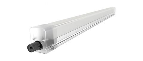 Robust LED-armatur för parkeringsplatser