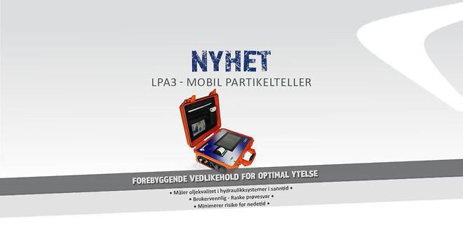LPA3 mobil partikkelteller for oljekvalitet - Lekang Filter