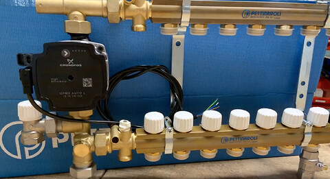 Få hjælp til din Grundfos UPM3 pumpe - Pettinarolis kvikshunt er udstyret med energivenlig UPM3 pumpe