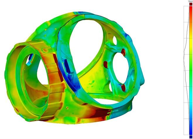 Emneopmåling, 3D scanning af vindmøllenav