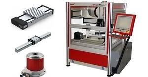 Isel lineärenheter och CNC-maskiner