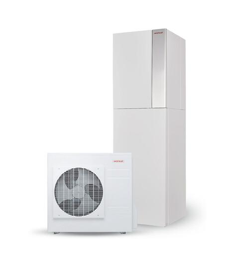 Super økonomisk og effektiv luft/vand varmepumpe - Weishaupt Split varmepumpe kompakt 8 kW