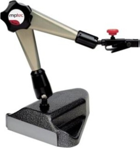 mptec måleurstativ med luftskyvefot Type MU/FS fra ABC-Maskin