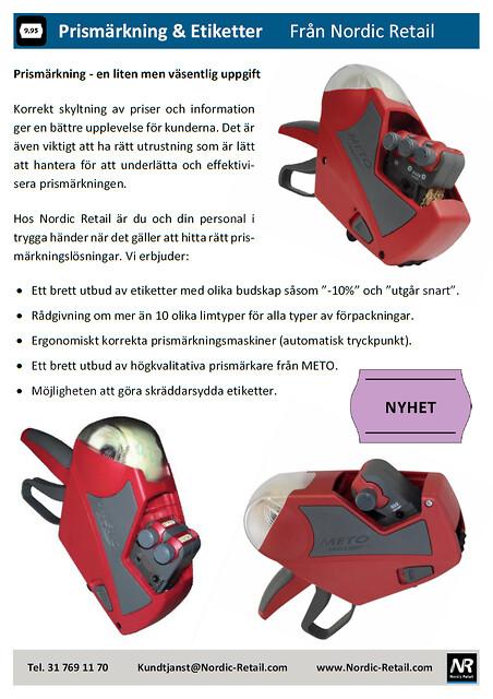 Nordic Retail - Prismärkning & etiketter