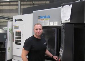 Paw Kaldahl ny produktionstekniker hos GromasMaskinfabrik A/S