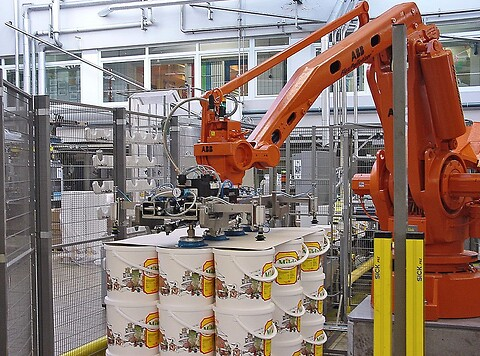 ABB robot palletizer IRB640 160kg/2.9m S4C M98
