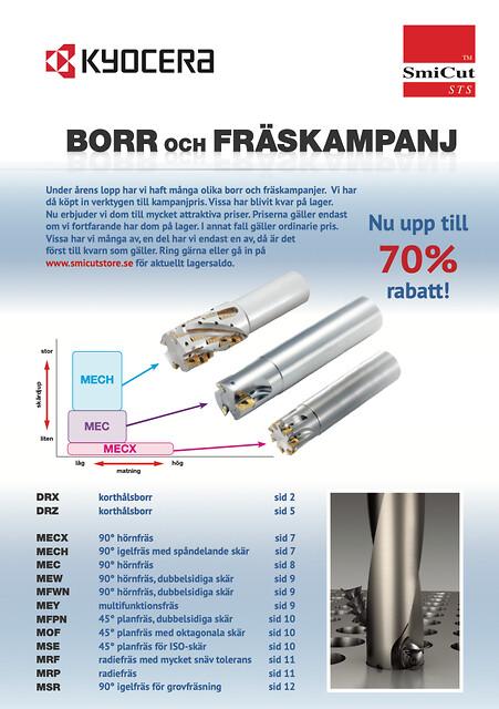 Borr och Fräskampanj - upp till 70% rabatt! - borr och fräskampanj