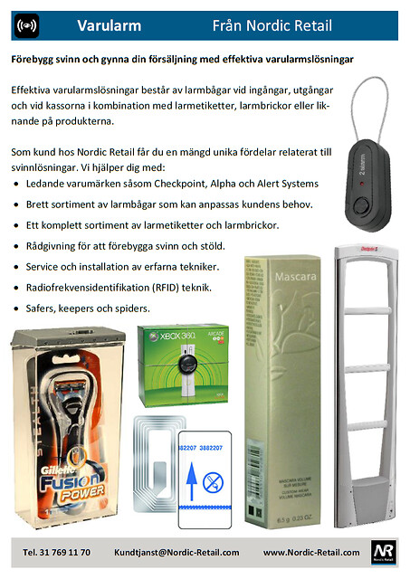 Nordic Retail - Varularm