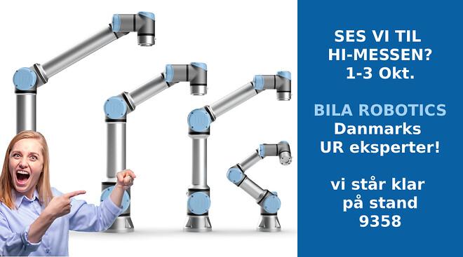 BILA Robotics, BILA, UR, Universal robots, automation