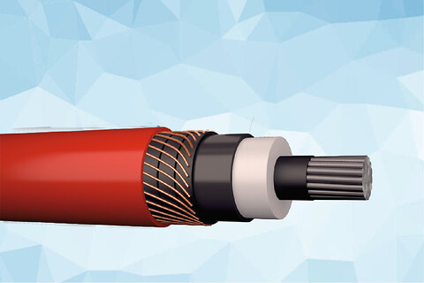 PEX-AL-LT 72 kV - halogenfri og vandtæt elforsyningskable