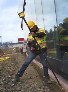 Tiltkompensation, GNSS, opmåling, Trimble, siteworks