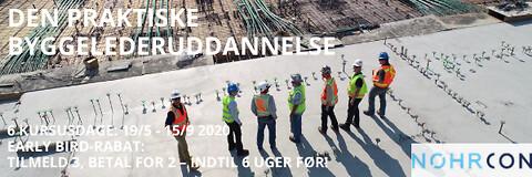 Tilsyn på byggepladsen - Tilsyn på byggepladsen - kursus - Den praktiske byggelederuddannelse - byggeledelse - Nohrcon