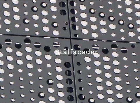 Eksperter i facadebeklædning i stål - Stålfacader Pro Montage