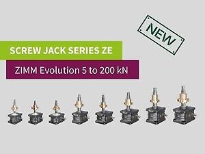 ZIMM Screw Jacks
