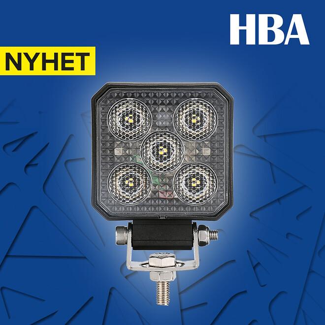 Litet arbetsljus/backlampa i kompositmaterial