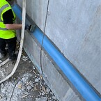 Vandtætningsbånd i lagt hulkehl er vandtæt op mod 50 meter vandsøjle