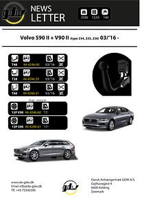 Volvo S90 + V90\nDragkrok GDW T60