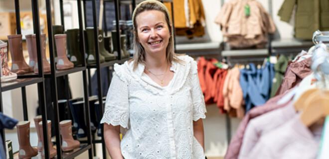 Louise Møller Pedersen, indehaver af Kære Børn i Skive