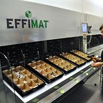 effimat storage robot