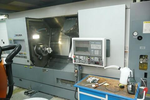 Okuma MULTUS B 400 - W 2007 - CNC, drejebænk  7 akset Okuma MULTUS B 400 - W