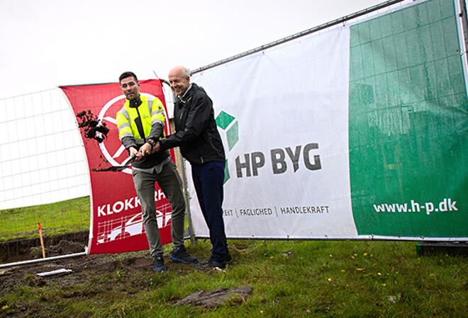 Klokkerholm Karosseridele Ny Administrationsbygning HP Byg