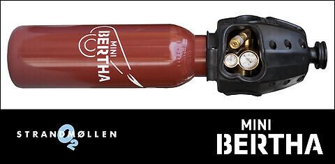 Mini Bertha Acetylen (5 liter), Strandmöllen AB - Mini Bertha Acetylen