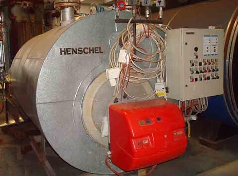 Dampkedel 600 kg/h x 16 bar - Chr. Møller A/S's Brugtbørs