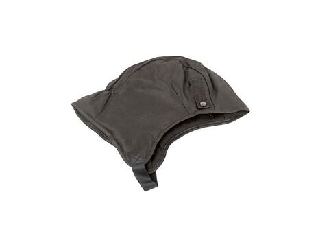 Hjelmhue til fastspænning i hjelm