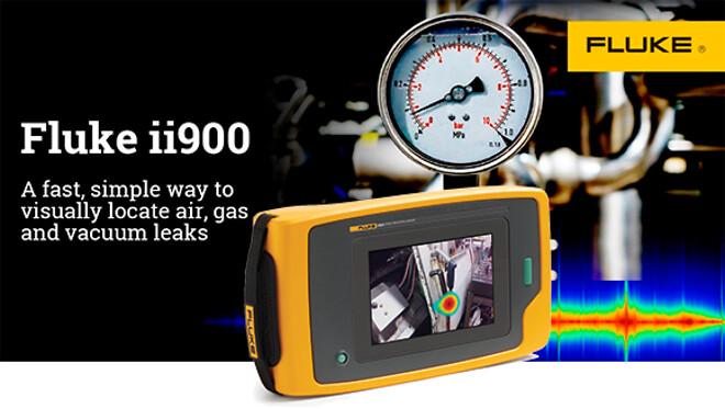Fluke ii900 sonisk lekkasjekamera