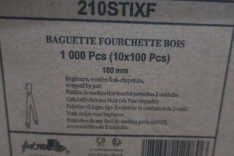 10000 stk. gaffelspisepinde af træ firstpack 210STIXF