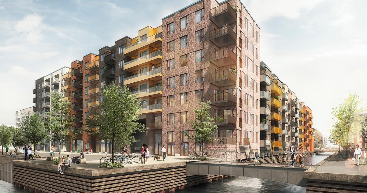Sluseholmen - byggefelt L - Building Supply DK
