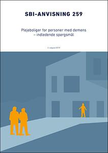 Forsiden af SBi-anvisningn om demensvenlige boliger