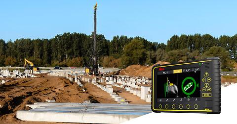 Løsninger for bore- og pelemaskiner fra Leica Geosystems! - Løsninger for bore- og pelemaskiner, maskinstyring, borerigg