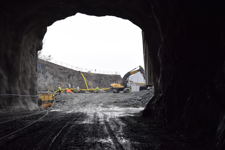 Tatningen av tunnlarna klar