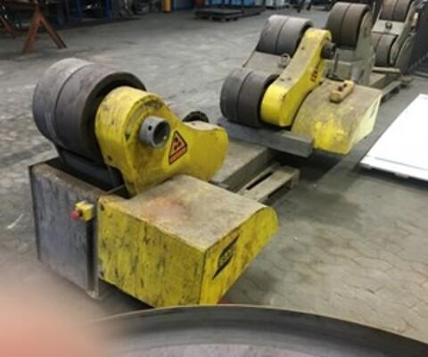 Brugte Esab Pema svejserullebukke 70 ton sælges