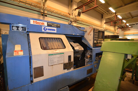 Mazak Quick Turn 10 ATC/MC 1989