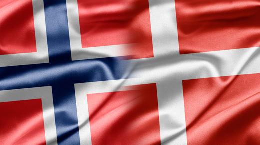 danmark til norge
