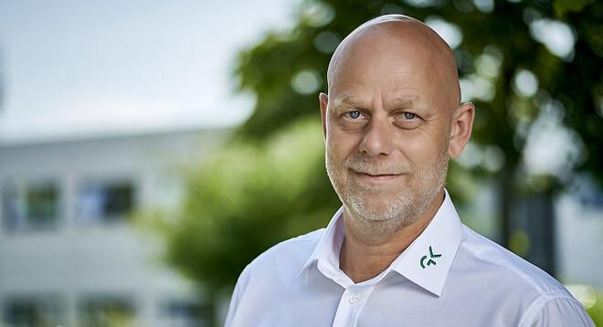 Jimmi Beyer Gerlach, servicechef for ventilationsafdelingen på Sjælland