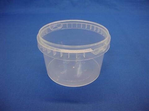 Plastbøtte 5134 - 800 ml. - klar