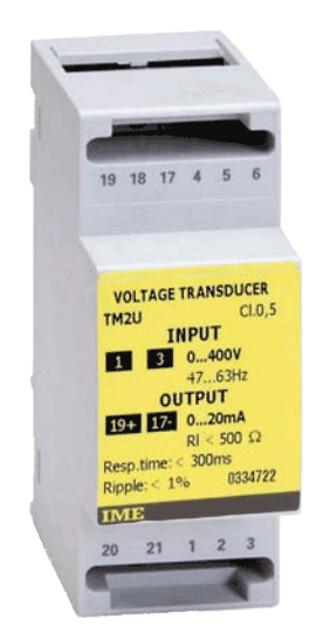 Transducer for AC spænding