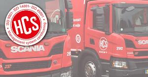 ISO 9001, 14001 OG 45001 HOS HCS